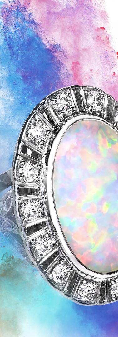 beautiful opal