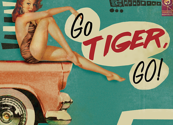 Go Tiger, GO! Limited Edition Vinyl LP