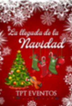 La llegada de la Navidad Cartel.png