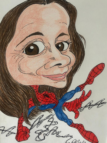 Lucy Spider-Man-Woman