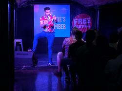 Kiwi James Nokise at Shaggers in Edinbur