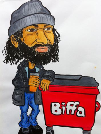 Mike 'Biffa' Belgrave