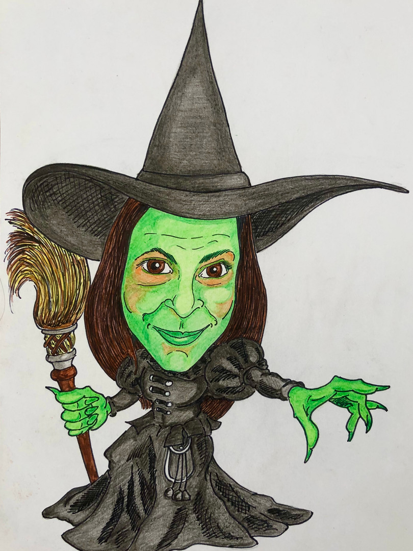 Debs Wicked Witch