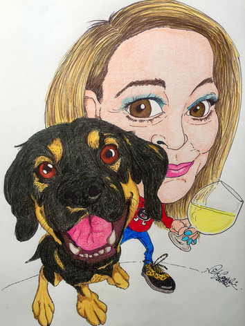 Joanne Cox And Doggy