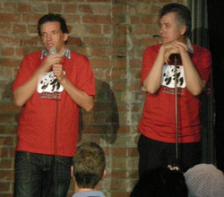 Germans Henning Wehn and Otto Kuhnle