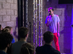 Aussie Daniel Muggleton in the 'Lock-Up' venue