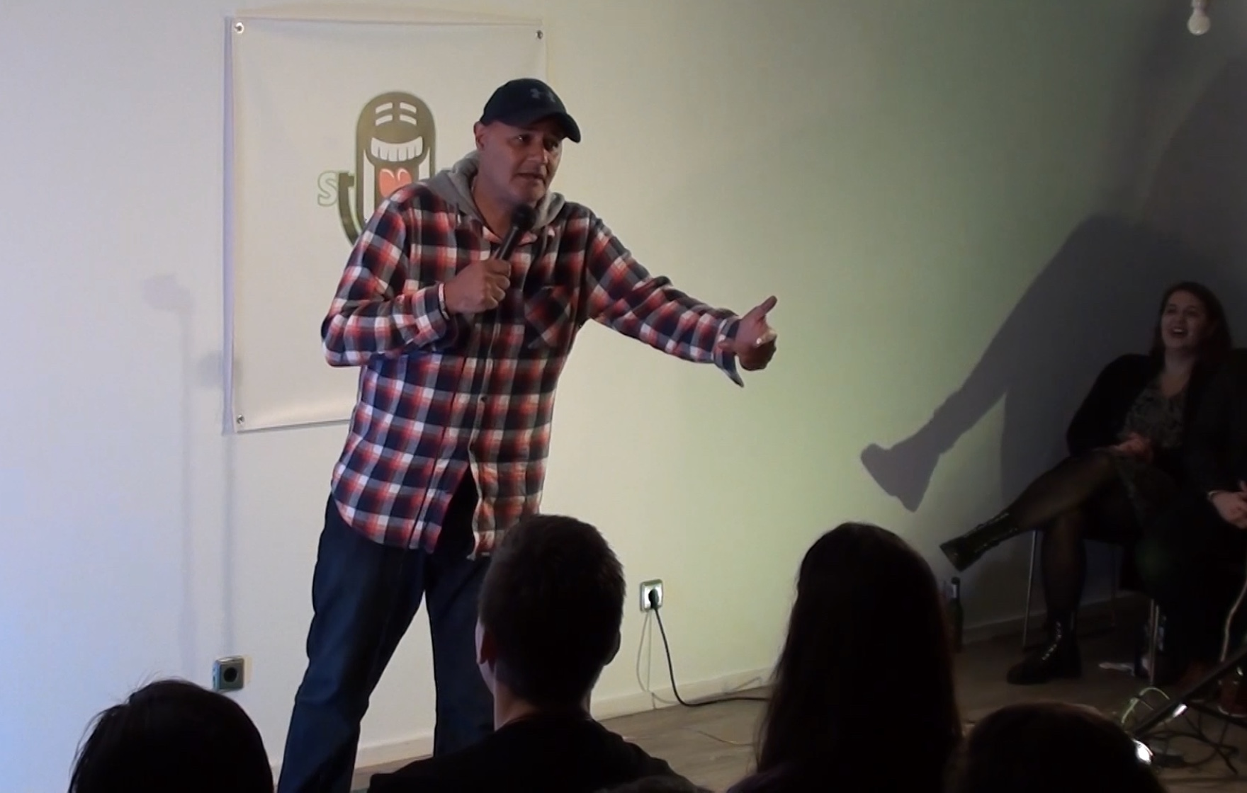 Nik Coppin SUP Comedy