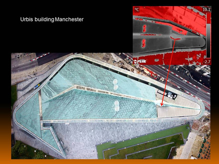Sunday Morning Roof Survey at the National Football Museum Manchester