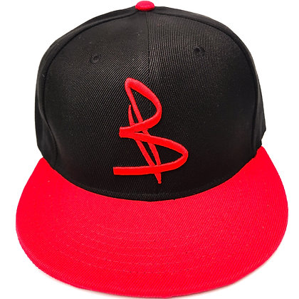 BLACK/RED CAP - Snapback