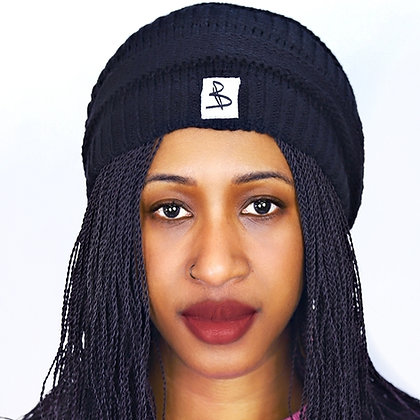 BEANIE HAT - BLACK