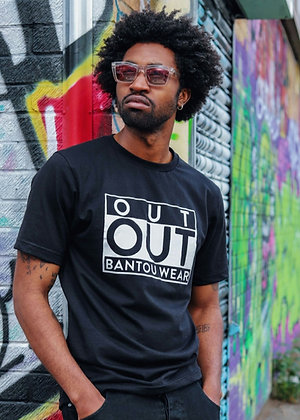 OUT OUT T-SHIRT (Black)