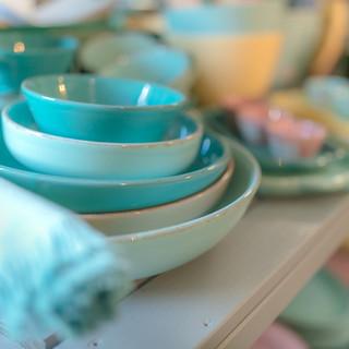 Keramik türkis