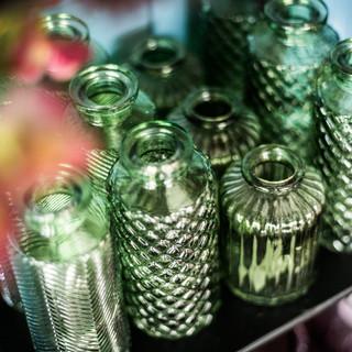 Minivasen grün