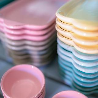 handgefertigte Keramik aus Italien