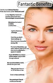 Airbrush Tan, Airbrush Makeup, Hair Extensions, and Keratin Treatments