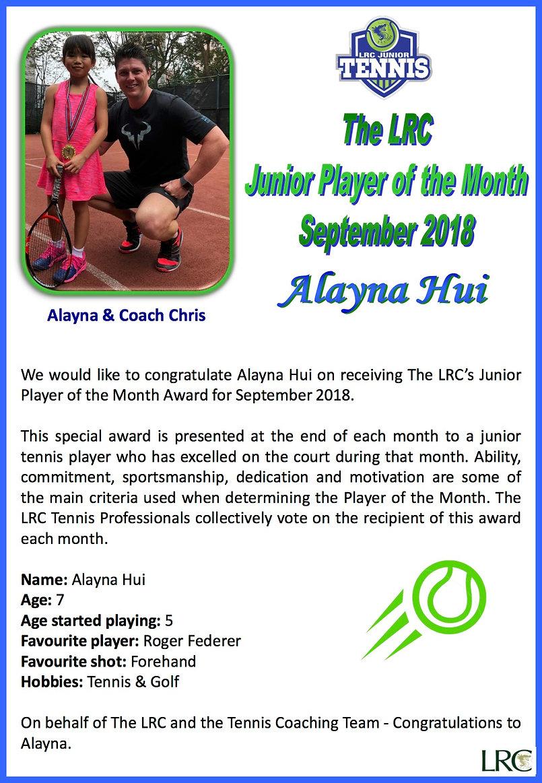 201809 Junior POTM - Alayna Hui.jpg