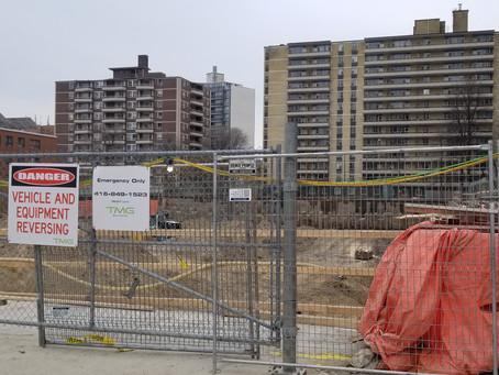 Construction management in our neighbourhood