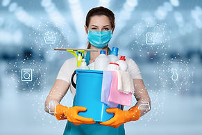 The concepts of cleaning and disinfectio