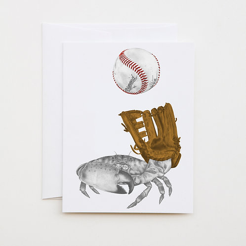 Note Card: JR de la PAZ Blue Crab