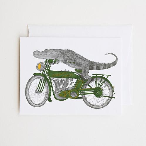 Note Card: CHARLIE BONAVENTURE Alligator