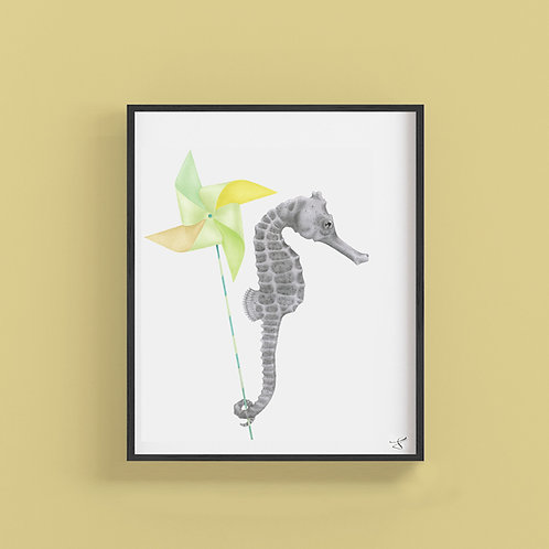 GAMBOL AZIMUTH LONG SNOUT SEAHORSE