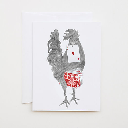 Note Card: PETEY DUVAL Key West Gypsy Rooster