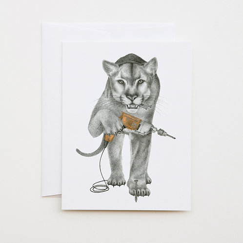 Note Card: FIN LARAMIE Florida Panther