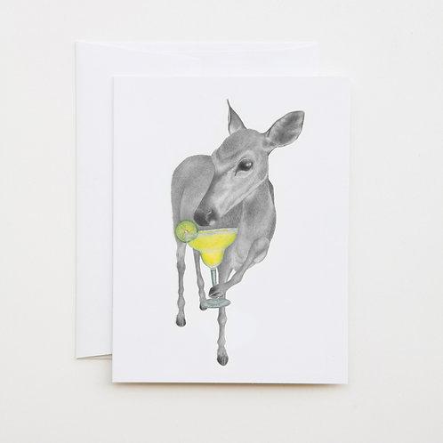 Note Card: ORILLIA KAY Key Deer