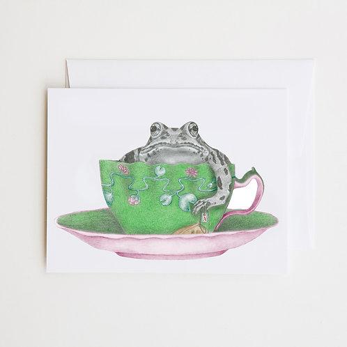 Note Card: ANNIE HASTINGS Eastern Leopard Frog