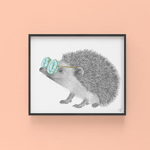 WHITBY VALENTINE EUROPEAN HEDGEHOG
