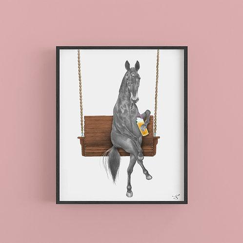 MIAMI CLEMENTINE HORSE