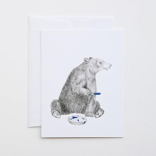 Note Card: ALBERT FINNEGAN Black Bear