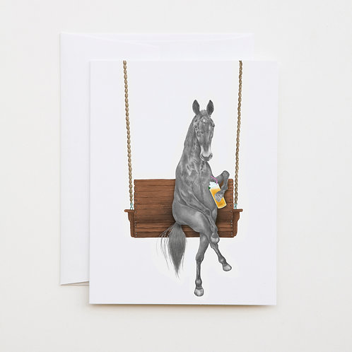 Note Card: MIAMI CLEMENTINE Horse