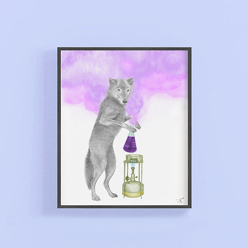 LUNA SAGE EASTERN TIMBER WOLF