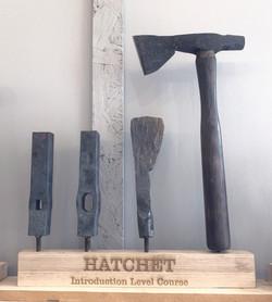 Bladesmithing Hatchet