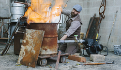 Lighting the furnace