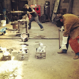 Aluminum Sand Casting in the Foundry