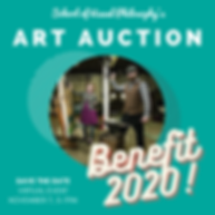 SVP Art Auction benefit 2020 facebook po