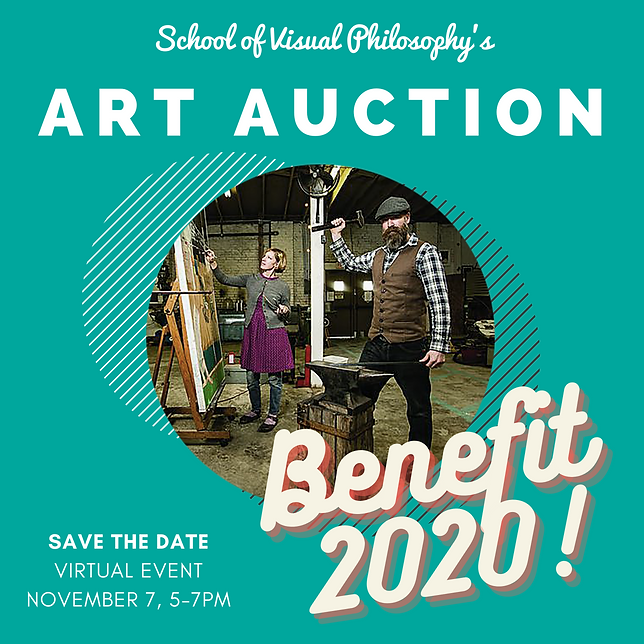 SVP Art Auction benefit 2020 facebook po