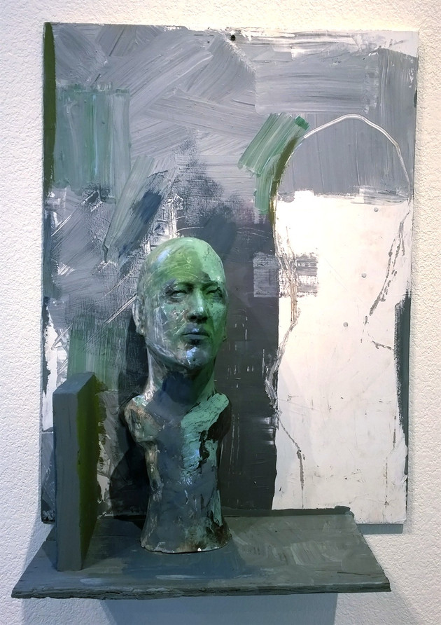 Self Portrait in Green