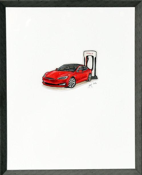 Your neighbor: The Tesla