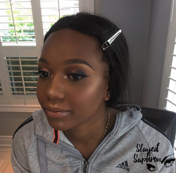 Neutral Makeup: Prom