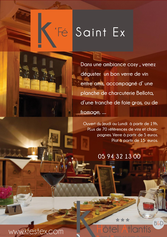 Brochure Kfé Saint Ex