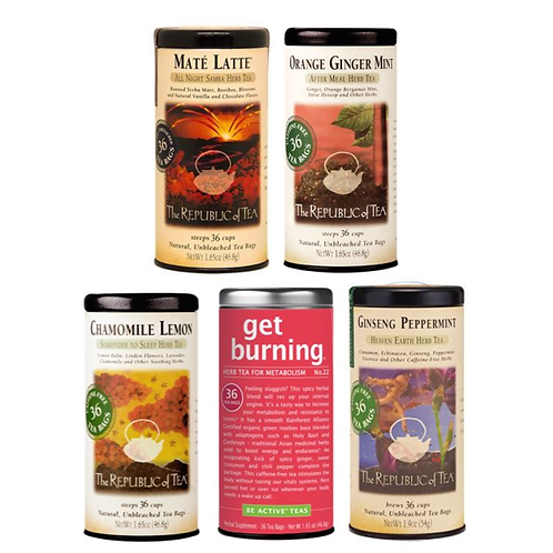 Herbal Tea Canister