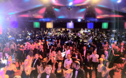 dj mikey b at The Harry Moseley Ball