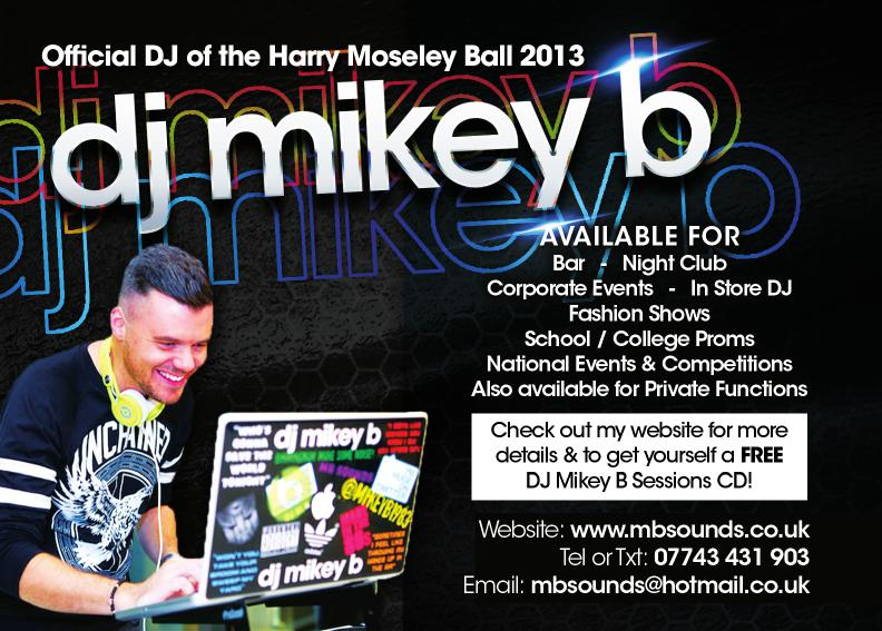 Harry Moseley Ball 2013 Advert