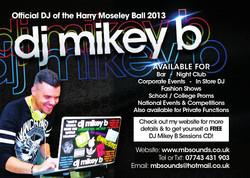 Harry Moseley Ball 2013 Advert