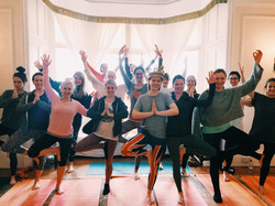 Yoga for hen party