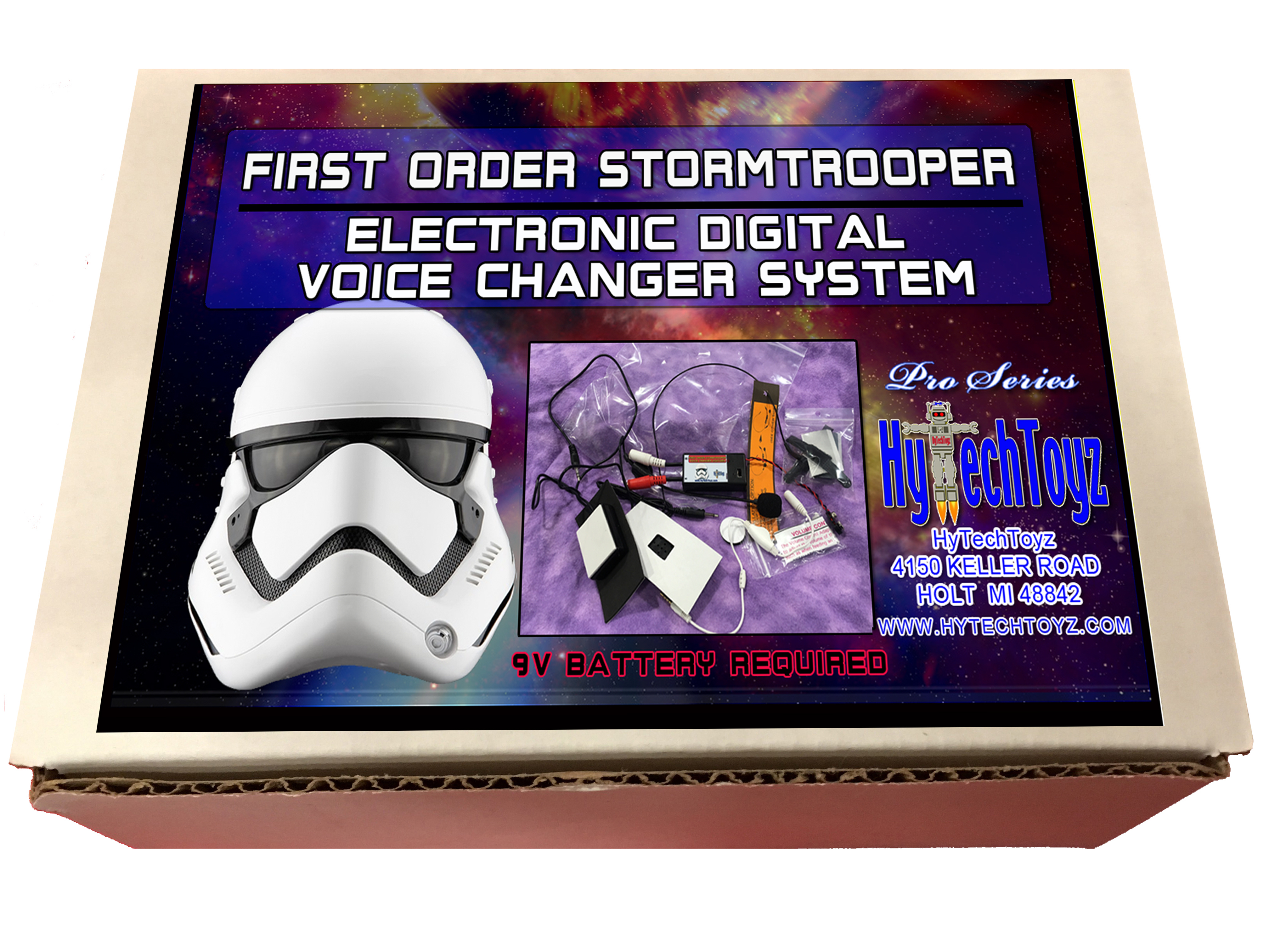 FIRST ORDER STORMTROOPER PRO SERIES BOX