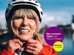 Met een helm op de e-bike? Dat spreekt voor zich